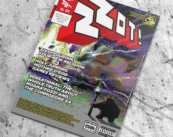 ZZOT! #1 - The Fundamentalist Magazine of the Sixtyfourist Zealot - Season 1 | Episode 01 - digital (hi-res pdf )
