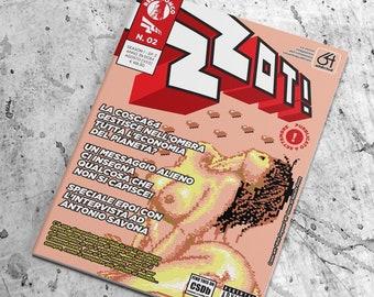 ZZOT! #2 - La rivista integralista dell'oltranzista sessantaquattrista - Season 1 | Episode 02 - formato digitale (hi-res pdf )