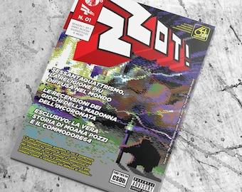 ZZOT! #1 - La rivista integralista dell'oltranzista sessantaquattrista - Season 1 | Episode 01 - formato digitale (hi-res pdf )