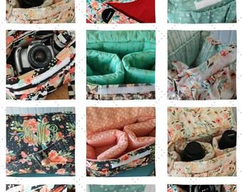 Sewspire Design Board #031621 - Large Padded Camera Bag with Bonus Measurements