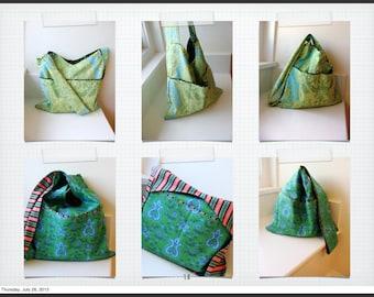 Step by Step - Hobo Bag Sewing Tutorial