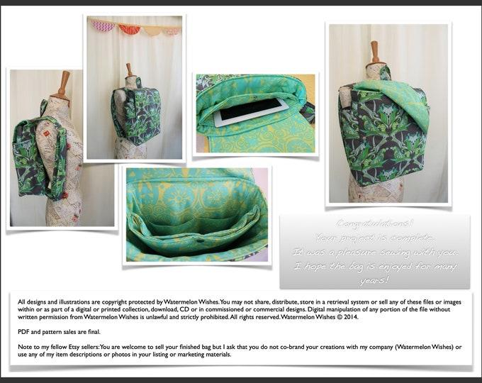 Step by Step - Backpack Sewing Tutorial