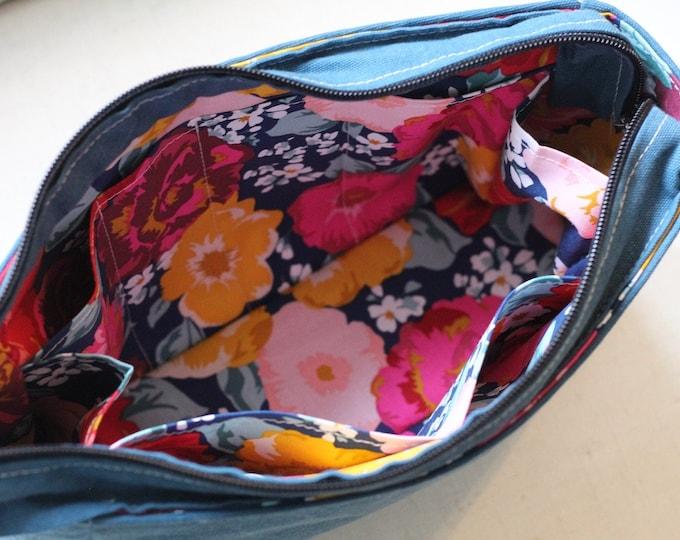 Sewspire Design Board #011221 Boxy Everyday Zippered Cosmetic Bag