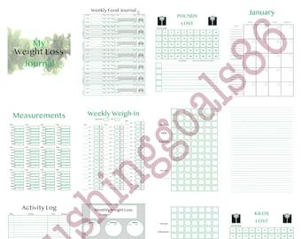 Weight Loss Journal- Male Version (digital)