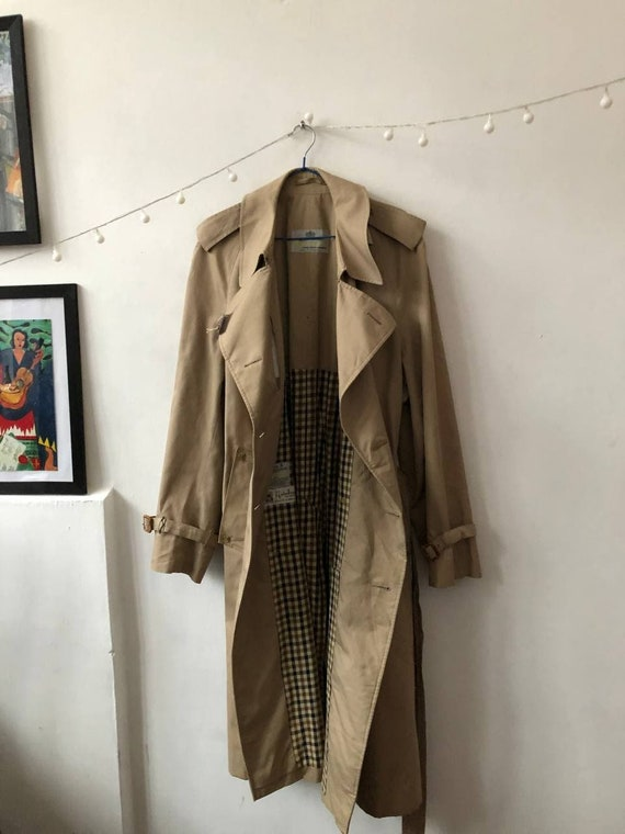 vintage trench coat by Aquascutum