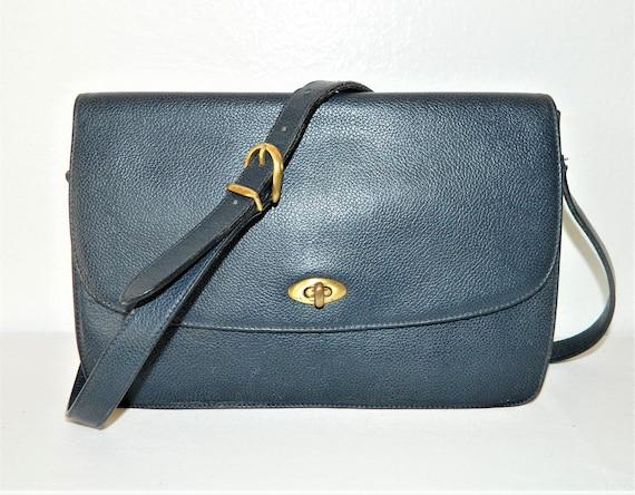 Coach Vintage Leather Messenger Bag