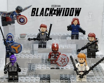 New Minifigure Custom Lego Baron Zemo New Version New Movie Black Widow Marvel