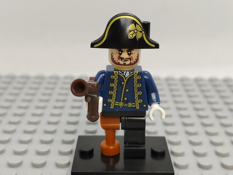 Pirates of the Caribbean Custom Toy Figure Set of 10