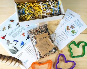 Bird Feeder Kit, Craft Kit for Kids, Art Kit, Kids Craft Kit, Bird Feeder, Spring Craft, Nature Craft, Nature Activity, Preschool Craft