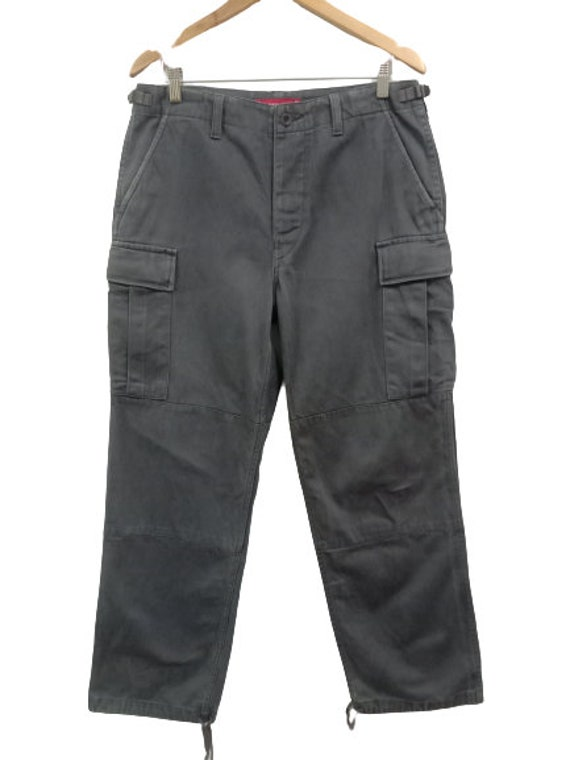 Supreme Heavy Cotton Cargo Pants