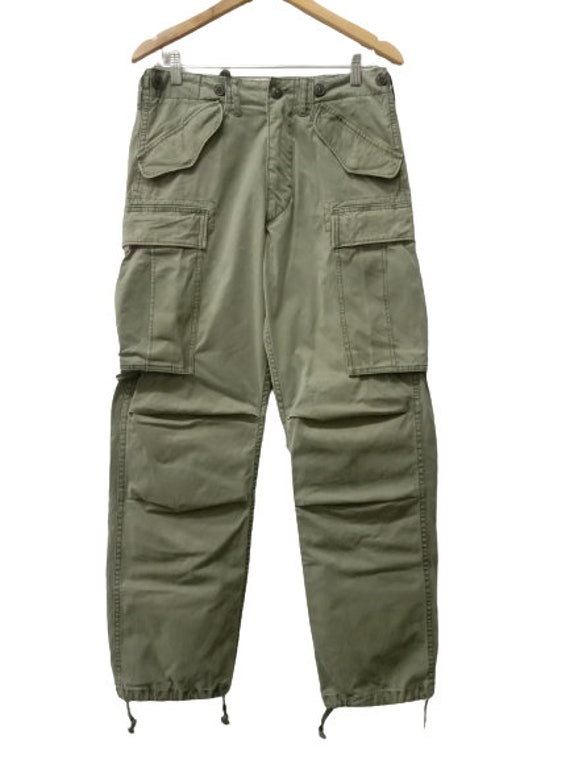 Vintage RRL Military Trousers Cargo Pants