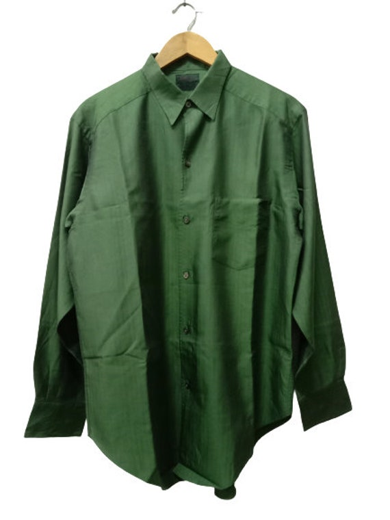 Vintage Yohji Yamamoto A.A.R Herringbone Green Lon