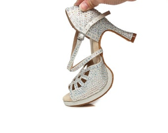 Sparkly Dance Sandals