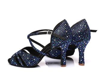 Glamorous Crossover Dance Sandals
