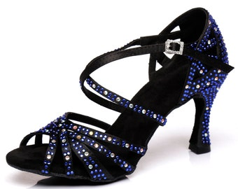 Crossover Dance Sandals