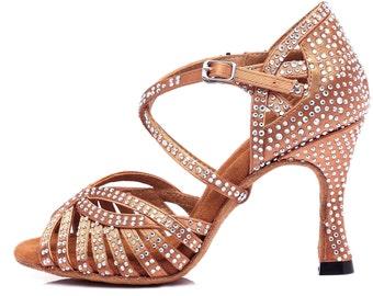 Glitter Dance High Heels