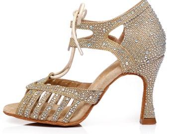 Lace Up Dance Sandals