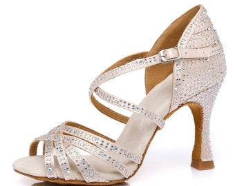 Cross Over Strap Dance Sandals