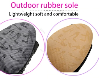 Outdoor rubber sole