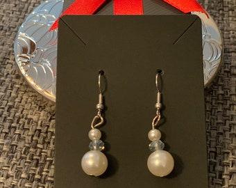 Pearl inspired earrings