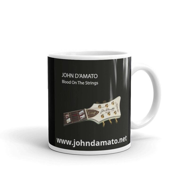Blood On The Strings Mug image 0
