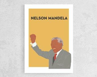Poster Nelson Mandela