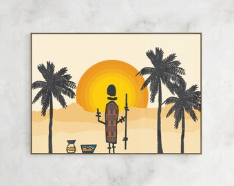 illustration Africa II Digital art