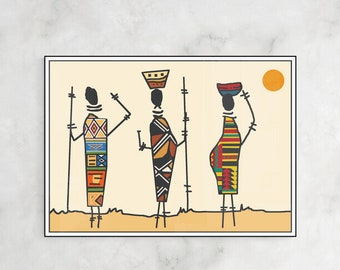 Poster Africa III Digital art