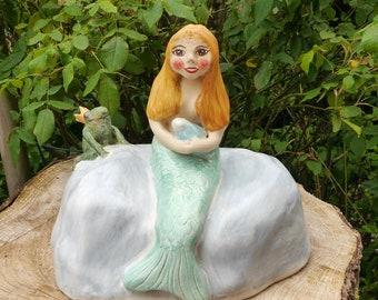 Mermaid and Frog King- Blind Date
