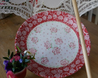 Romantic plate