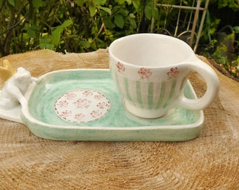 Fairytale cup tray with cup
