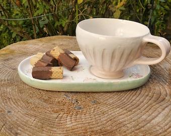 Romantic Cup-Plate Set