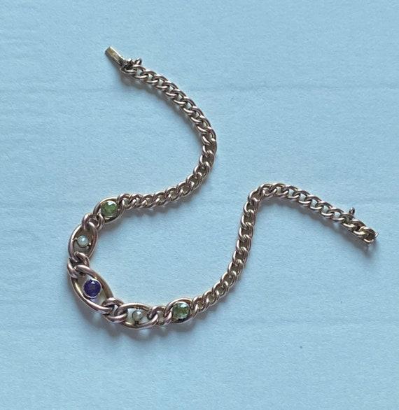 A 9ct original Suffragette bracelet