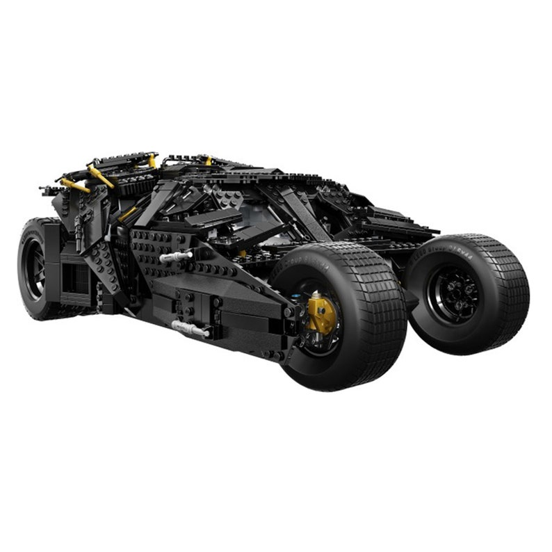 DIY Fast Delivery Super Hero Series Batman Armored Chariot Cruiser Compatible lego blocks