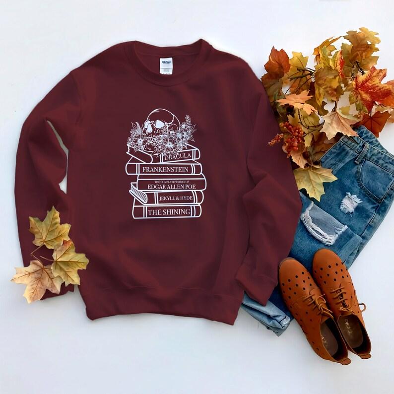Horror novels sweatshirt