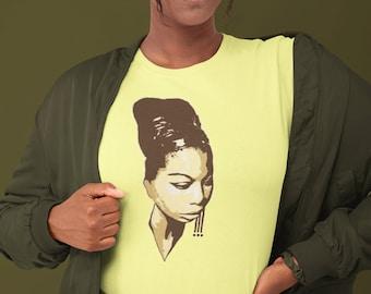 "Down Bound T-Shirts ""Nina Simone YGB"""