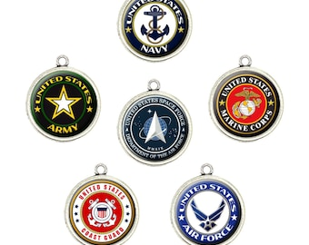 Proud air force sister Stainless Steel Charm,Personalized Air force Engraved Charms,Custom charmsPendants,Necklace Bangle Charms