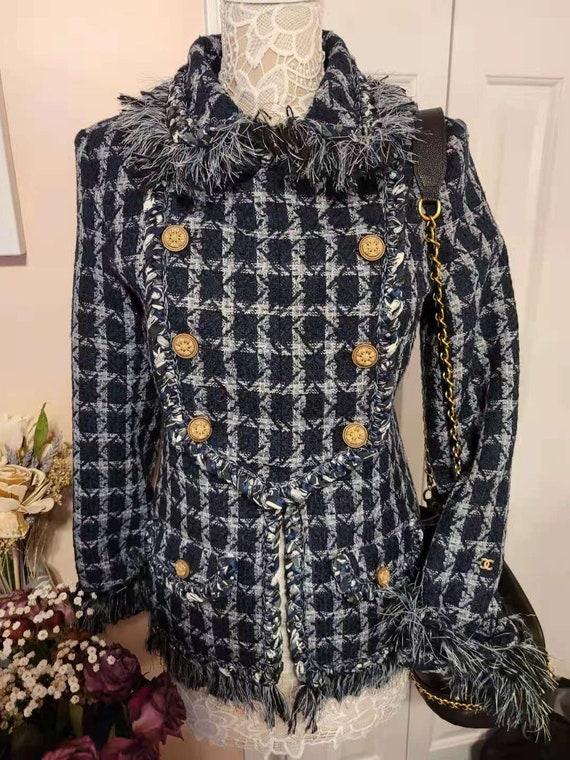 Vintage chanel fringe jacket
