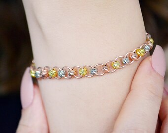 Piece Dorika Rose Thin Bracelet