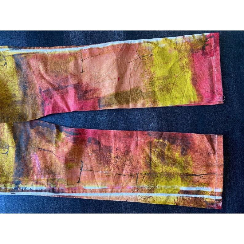 Roberto Cavalli Multi-Colored Designer Jeans
