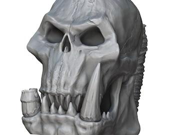Orc Skull Mug