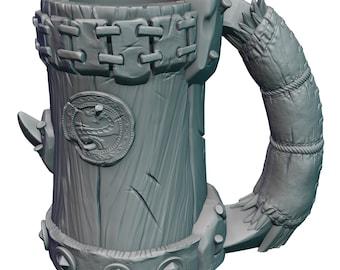 Half-Orc Mug