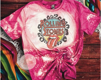 vintage tee Rock Inspired Tee Rockstar shirt Pink Lips T-shirt The Rolling Stones Rock n Roll graphic t-shirt Tongue t-shirt for women