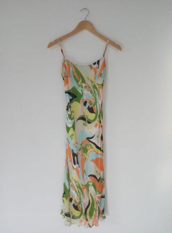Midi fluid dress