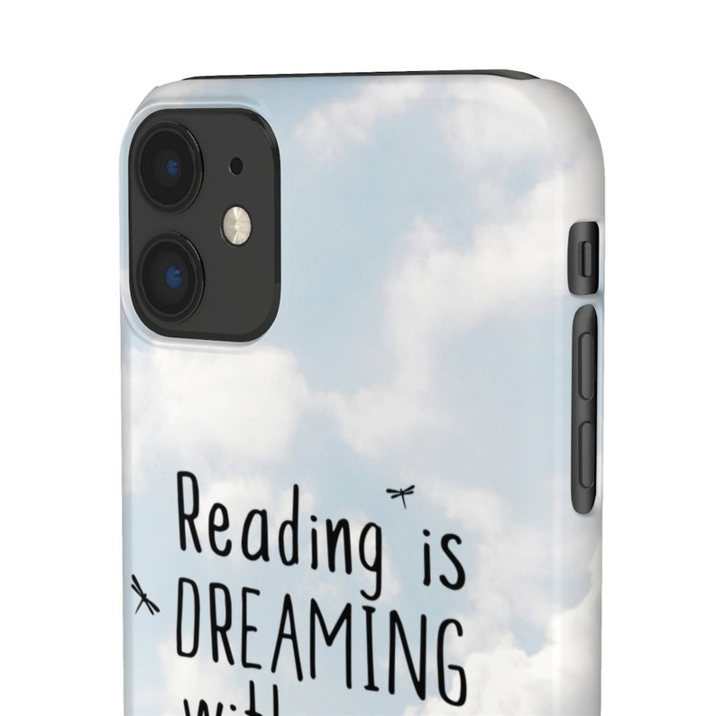 Reading Is Dreaming Book Lover Phone Case Teacher Bookish Literary Librarian Book Gift Case for iPhone Samsung