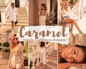 Mobile Lightroom Presets Caramel Presets Iphone Presets Warm Presets Brown Presets Instagram Filter Blogger Presets Influencer