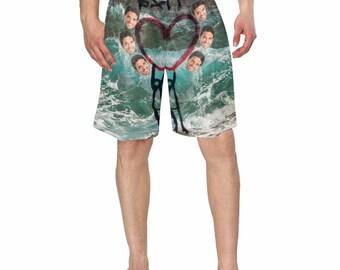 Selfie Gift Custom Shorts Gift for her Selfie Custom Face Faces Shorts Shorts Personalized Short Customized Funny Shorts