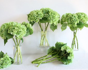 Real Touch Huge Hydrangea Extremely Realistic   Luxury Quality Artificial Flower   Wedding Centerpieces   Floral Arrangement - Multi-Colors