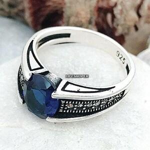 Details about  /Handmade 925 Solid Sterling Silver Ring Natural Multi Gemstone US Size JSRV15