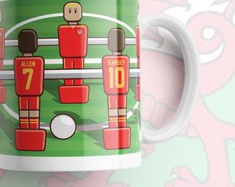Home Nations foosball mug WALES EDITION